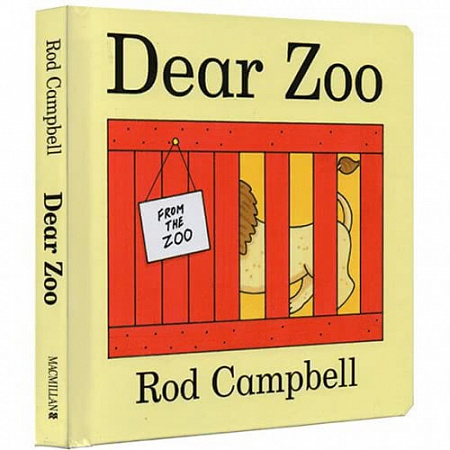 Dear Zoo (hard cover)