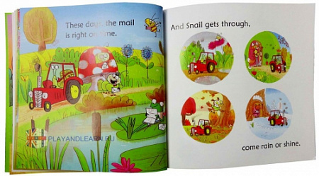 Snail Brings the Mail (Phonics Readers)